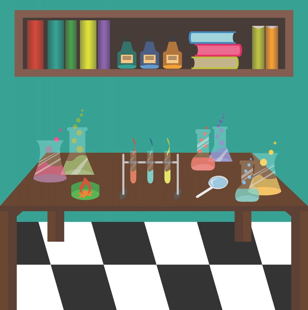 chemical laboratory, tubes, chemistry